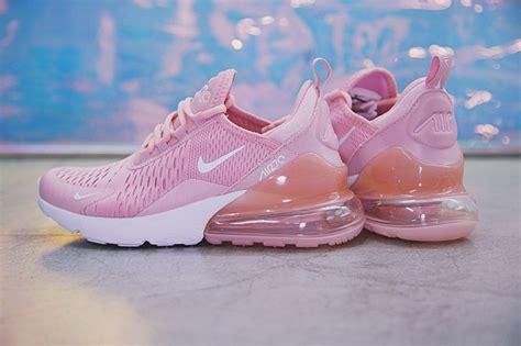 nike lunar pink white nike air 270 flyknit pink ah8050 610 39 s running shoes