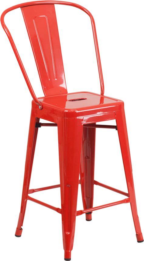 24 high metal indoor outdoor counter height stool