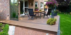 Wpc Terrasse Unterkonstruktion : wpc terrassendielen verlegen ~ Orissabook.com Haus und Dekorationen