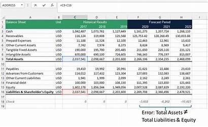 Excel Errors Spot Check Error Efinancialmodels Total