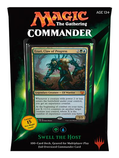 mtg commander decks 2015 commander 2015 edition packaging magic the gathering
