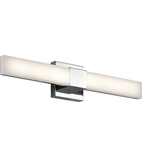 elan 83736 neltev led 24 inch chrome vanity light wall light