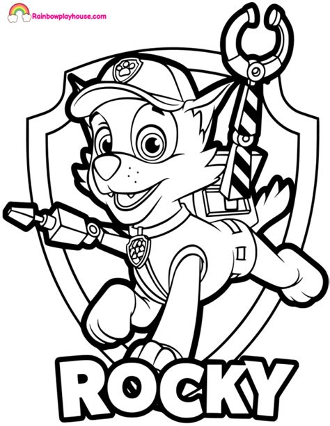 Paw Patrol Badges Coloring Pages at GetColorings com