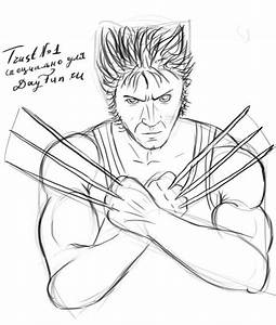 How To Draw Wolverine Step By Step Arcmelcom