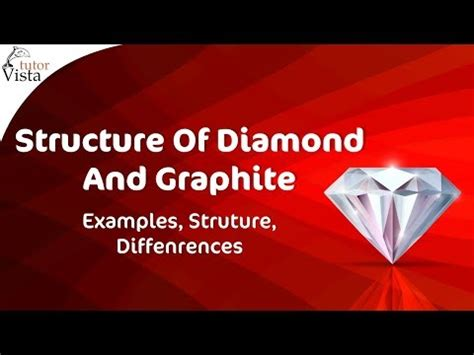 structure  diamond  graphite youtube