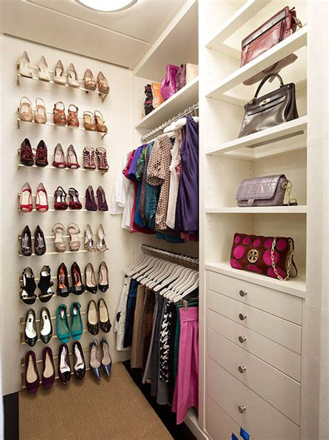 closet ideas for shoes simple tips for small walk in closet ideas diy amaza design