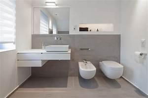 Bad Mit Holzboden : badezimmer grau design ~ Michelbontemps.com Haus und Dekorationen