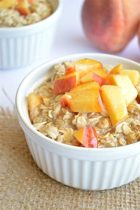 Healthy Peach Recipes For Breakfast Lunch Dinner