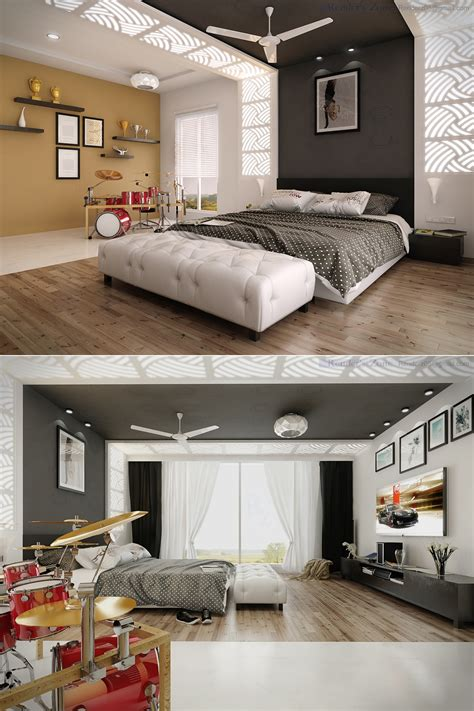 I created a bedroom for my teen and tween boys who both love music. 25 Newest Bedrooms That We Are In Love With