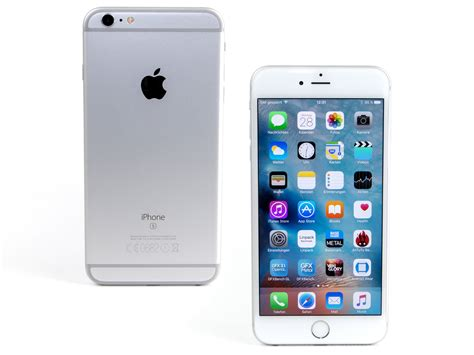 iphone 6 on apple iphone 6s plus smartphone review notebookcheck net