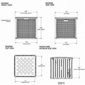 Bmdb60  U2013 227 Litre Cube Deck Box Storage