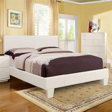 furniture  america whck white platform california