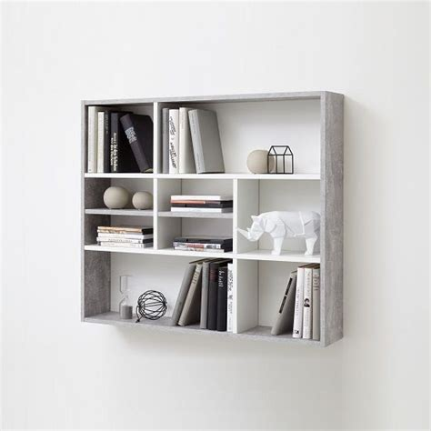 Mounted Shelving Unit by Andreas Wall Mounted Shelving Unit In White And Light Atelier