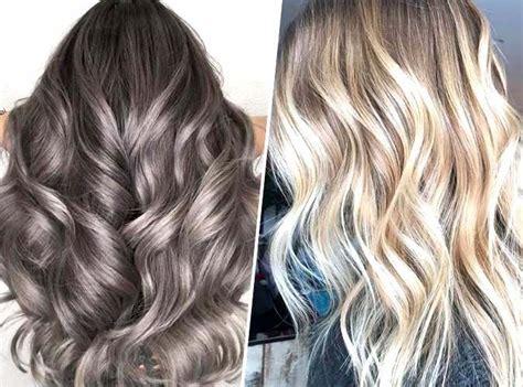 tendance coloration 2018 nouvelle tendance couleur de cheveux 2019 coupes de