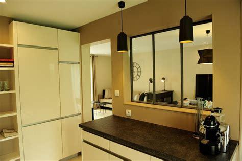 cuisine style atelier cuisine photo 1 6 cuisine avec verrière