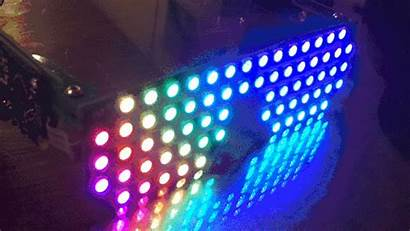 Led Glasses Rgb Shades Programmable Source Array
