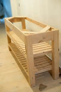 woodworking plans kitchen island 25 best ideas about diy bathroom vanity on