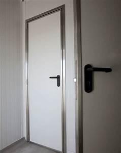 mse portes de laiterie exterieures encadrement inox With peindre un encadrement de porte