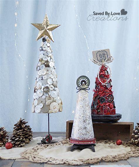 diy vintage holiday centerpiece  atfloracraft foam trees