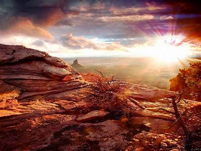 Canyon Grand Resolution Wallpapers Sunset Desktop Canion