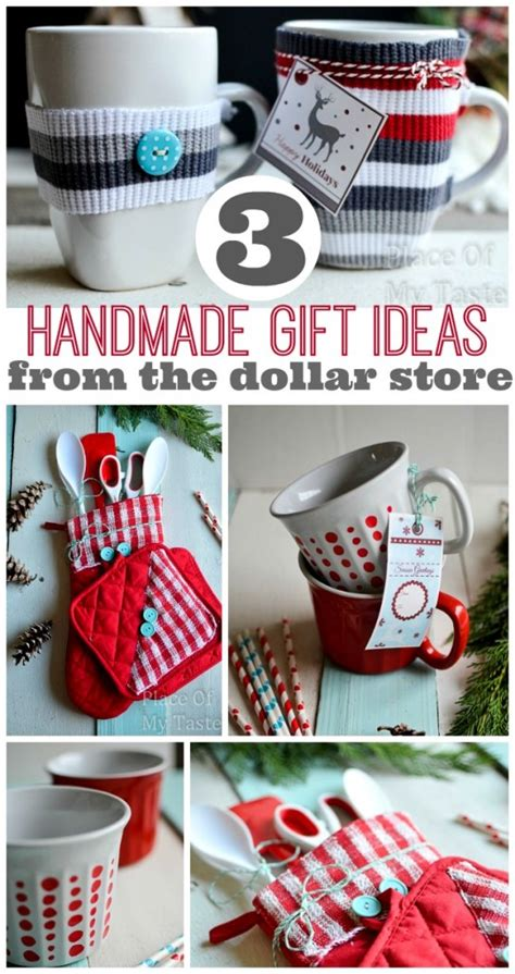 3 last minute handmade gifts from 1 store place of my taste