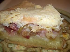 Rhubarb Custard Pie Recipe - Food.com