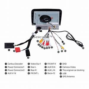 Android 8 0 Hd Touchscreen Radio Head Unit For 2005