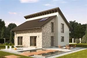 Haus Mit Pultdach : einfamilienhaus guenstig bauen nussbaumallee versetzte ~ Lizthompson.info Haus und Dekorationen