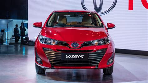 Toyota Yaris Sedan Revealed At 2018 Auto Expo; Launch