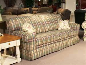 plaid sofa living room home apartment country sofas design ideas living room overstuffed chairs and