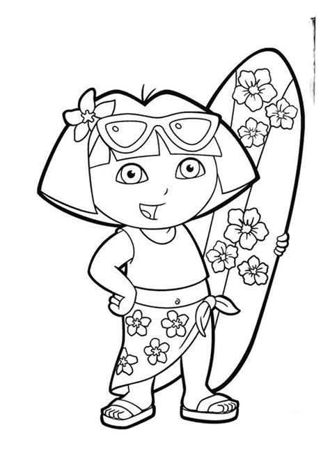 preschool summer coloring page getcoloringpages 734 | gqp3z8b
