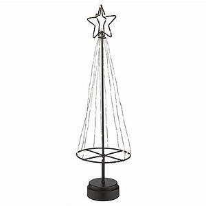 Weihnachtsbaum Mit Led : metall weihnachtsbaum mit 85 mini led 45cm weihnachten weihnachtsdekoration ~ Frokenaadalensverden.com Haus und Dekorationen