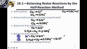 18 4 Balancing Redox Reactions - Disproportionation