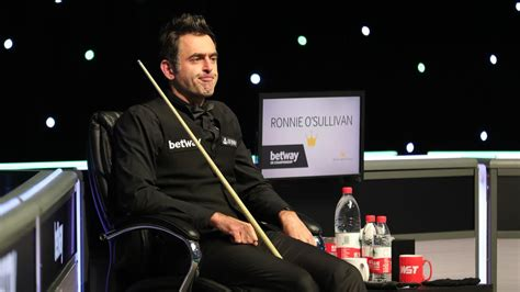 The world snooker championship is participating in the government's events research programme. Scottish Open 2020 snooker LIVE - Ronnie O'Sullivan on ...