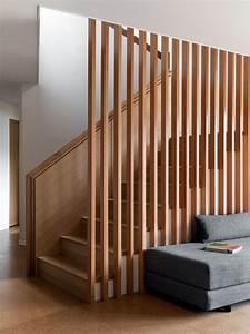 Slat, Wall, Stair