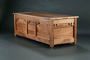 greene and greene blanket chest - FineWoodworking