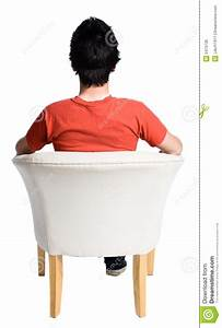 Man Sitting On A Chair Royalty Free Stock Image - Image ...