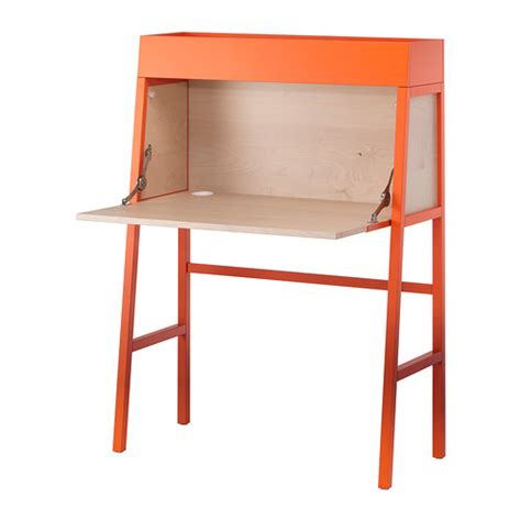 Table Bureau Ikea by Ikea Ps 2014 Bureau Orange Birch Veneer Ikea