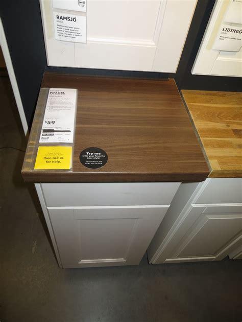granite countertops ikea ikea pragel wood countertop remodel