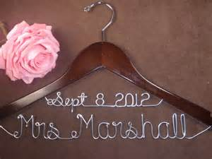 wedding dress hangers beautiful bridal personalized wedding dress hangers