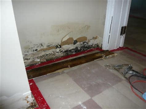water damage exterior stairway water damage services