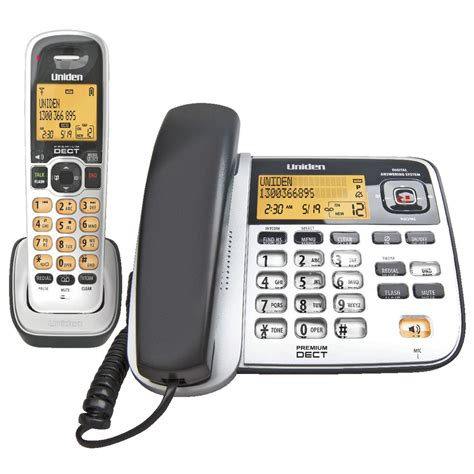 uniden cordless phones uniden dect corded and cordless phone 2145 1 ebay
