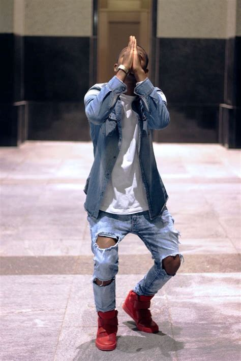 trendy ripped jeans outfit ideas  men instaloverz