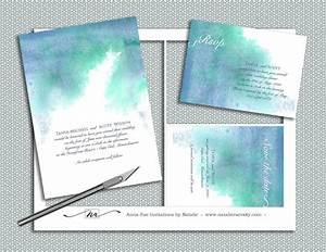 Create Invitation Card Free Download Diy Watercolor Wedding Invitation Suite Printable By
