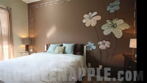 Paint Decorating Ideas For Bedroom by Master Bedroom Decorating Idea Green Apple Painting