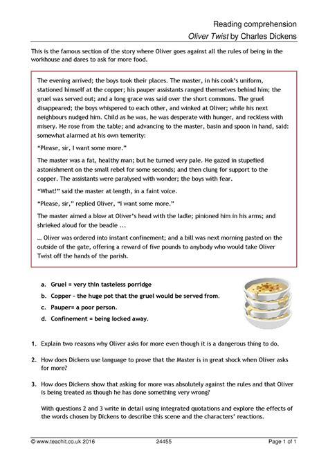 Ks4  Comprehension  Teachit English