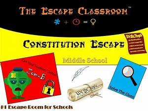 Constitution Escape Workshop 6th
