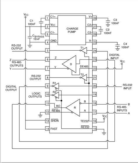 selecting and using rs 232 rs 422 and rs 485 serial data standards tutorial maxim