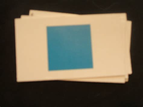 Candy Land Replacement Card (1) Blue Single