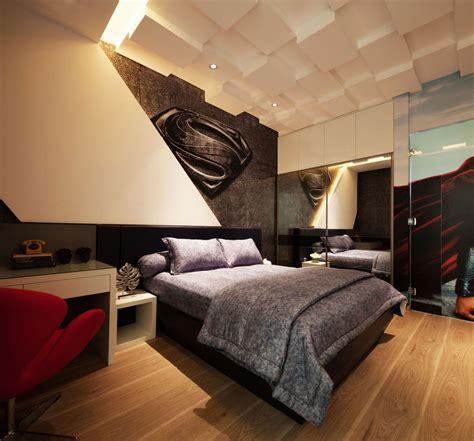 chambre de garcon deco pour chambre ado garcon tte de lit avec rangement en